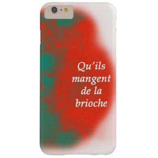 Coque Barely There iPhone 6 Plus Marie Antoinette-Les a laissés mangent le gâteau