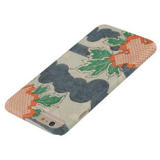 Coque Barely There iPhone 6 Plus Motif japonais vintage d'automne