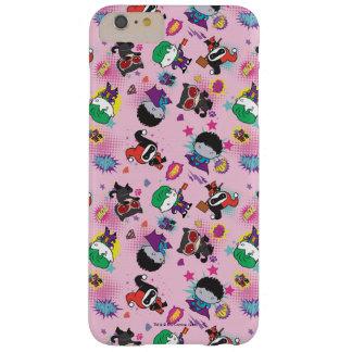 Coque Barely There iPhone 6 Plus Motif superbe d'action de voyou de Chibi