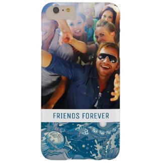 Coque Barely There iPhone 6 Plus Motif tropical | de mer votre photo et texte