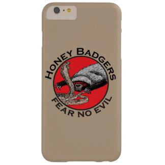 Coque Barely There iPhone 6 Plus Ne craignez aucune conception rouge animale drôle
