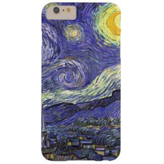 Coque Barely There iPhone 6 Plus Nuit étoilée de Van Gogh, paysage vintage de