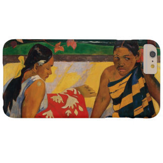 Coque Barely There iPhone 6 Plus Paul Gauguin deux femmes de beaux-arts de cru du