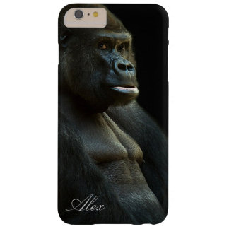 Coque Barely There iPhone 6 Plus Photo de gorille