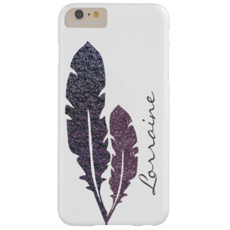 Coque Barely There iPhone 6 Plus Plumes scintillantes