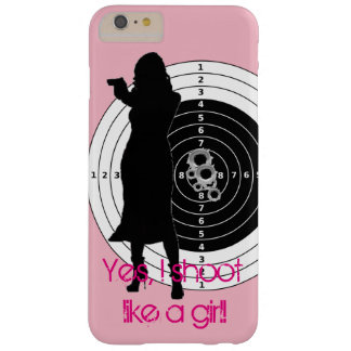 Coque Barely There iPhone 6 Plus Pousse comme une fille