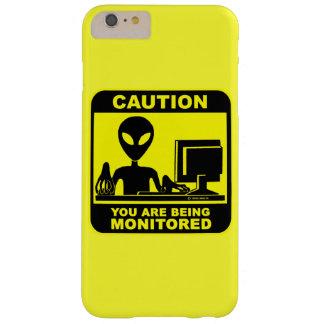 Coque Barely There iPhone 6 Plus Précaution ! vous êtes surveillés