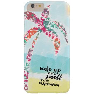 Coque Barely There iPhone 6 Plus réveillez et sentez l'inspiration, la plage et la