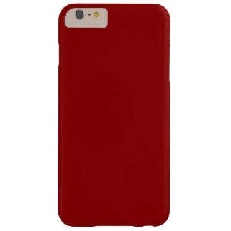 Coque Barely There iPhone 6 Plus Rouge foncé