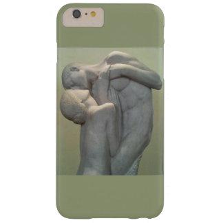 Coque Barely There iPhone 6 Plus Statue de marbre de l'embrassement de l'homme et