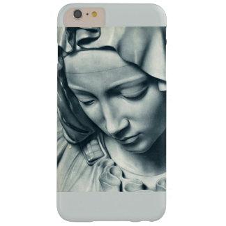 Coque Barely There iPhone 6 Plus Statut de marbre d'une femme
