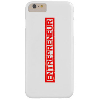 Coque Barely There iPhone 6 Plus Timbre d'entrepreneur