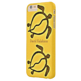 Coque Barely There iPhone 6 Plus Tortue de mer hawaïenne Honu d'or