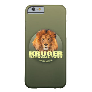 Coque Barely There iPhone 6 POIDS de Kruger NP (lion)
