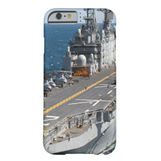 Coque Barely There iPhone 6 Porte-avions de marine des USA