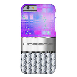 Coque Barely There iPhone 6 Pourpre et cotte de maille de freesia de