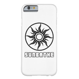 Coque Barely There iPhone 6 Prenez un bain de soleil le cas brillant de