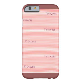 Coque Barely There iPhone 6 Princesse Case