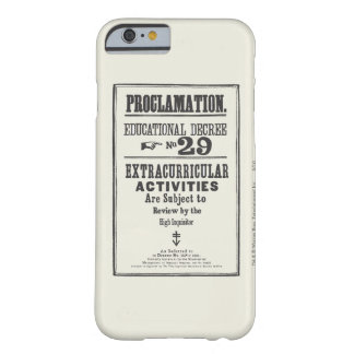 Coque Barely There iPhone 6 Proclamation 29