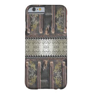 Coque Barely There iPhone 6 Regard vintage fleuri de Steampunk Goth