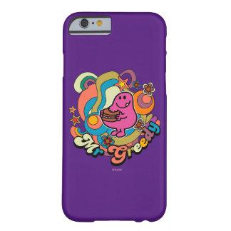 Coque Barely There iPhone 6 Remous colorés et étoiles de M. Greedy |