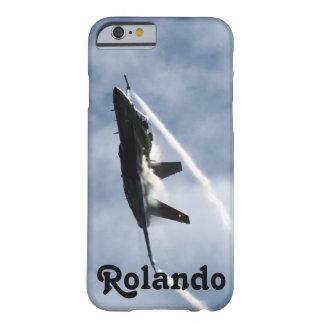 Coque Barely There iPhone 6 Salon de l'aéronautique d'avion de l'avion de