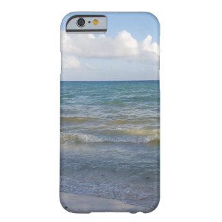 Coque Barely There iPhone 6 Scène de plage dans Tulum, Mexique