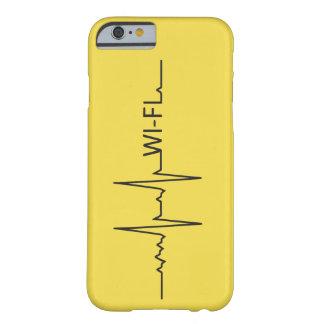Coque Barely There iPhone 6 Se marie Mon coeur bat par Wi-Fi