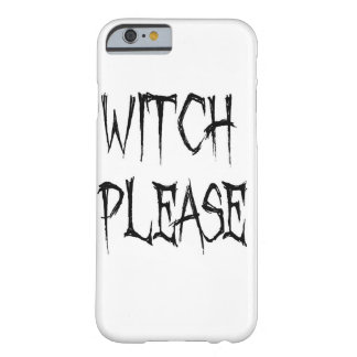 Coque Barely There iPhone 6 Sorcière svp