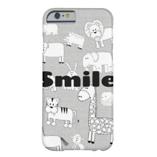 Coque Barely There iPhone 6 Sourire