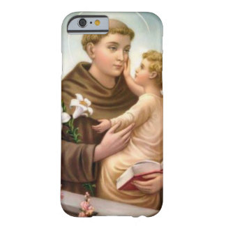 Coque Barely There iPhone 6 St Anthony de bébé Jésus de Padoue