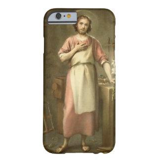 Coque Barely There iPhone 6 St Joseph avec le banc de travail d'outils