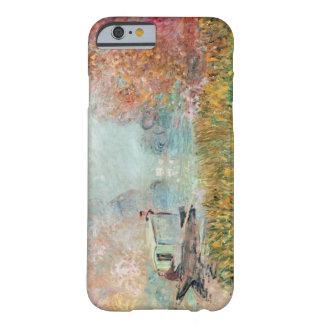 Coque Barely There iPhone 6 Studio de bateau de Claude Monet | sur la Seine