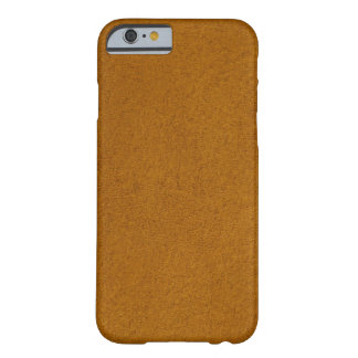 Coque Barely There iPhone 6 Suède orange