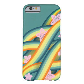 Coque Barely There iPhone 6 Tentacules tropicales d'île d'été