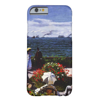 Coque Barely There iPhone 6 Terrasse de Claude Monet-The chez Sainte-Adresse