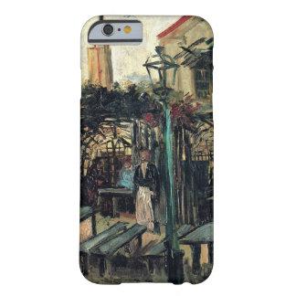 Coque Barely There iPhone 6 Terrasse de Van Gogh d'un café sur Montmartre,