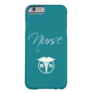 Coque Barely There iPhone 6 Thème médical d'infirmière