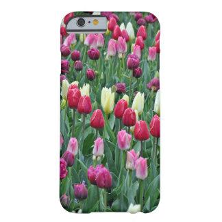 Coque Barely There iPhone 6 Tulipes colorées de ressort