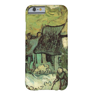 Coque Barely There iPhone 6 Van Gogh a couvert le cottage de chaume Jorgus,