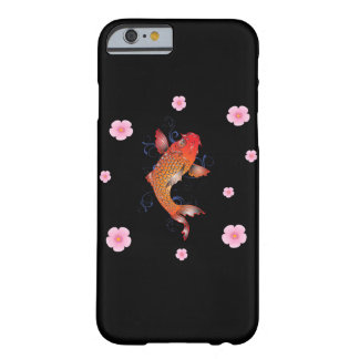 Coque Barely There iPhone 6 Vie marine de poissons de l'Asie Koi