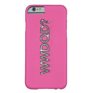 Coque Barely There iPhone 6 WWDQD ? * Queest-ce qu'une Reine d'entrave ferait