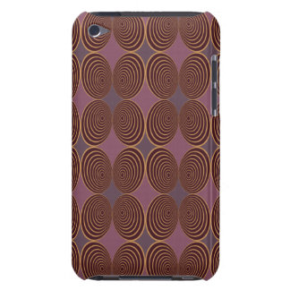 Coque Barely There iPod Baie de Concentris de harlequin
