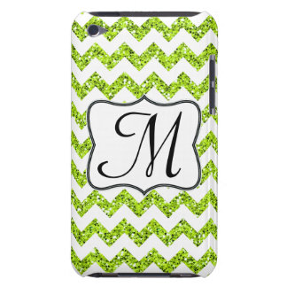 Coque Barely There iPod Contact moderne d'IPOD d'initiale de monogramme de