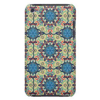 Coque Barely There iPod Motif floral ethnique abstrait coloré De de