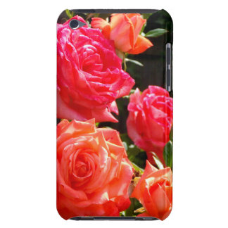 Coque Barely There iPod Roses de corail romantiques