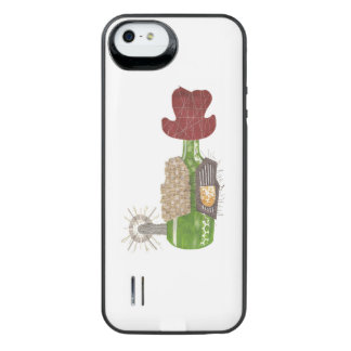 Coque Batterie Pour iPhone SE/5/5s Paquet de batterie de cowboy de bouteille