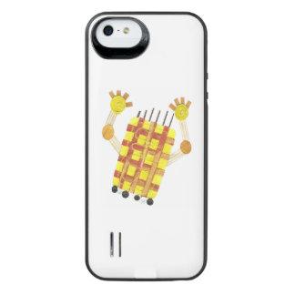 Coque Batterie Pour iPhone SE/5/5s Paquet de patinage de batterie de savon