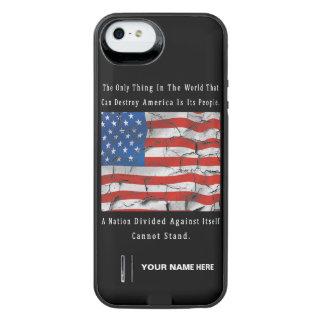 Coque Batterie Pour iPhone SE/5/5s Une nation divisée