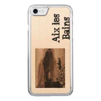 Coque Carved iPhone 8/7 AIX-LES-BAINS - Lac de Bourget